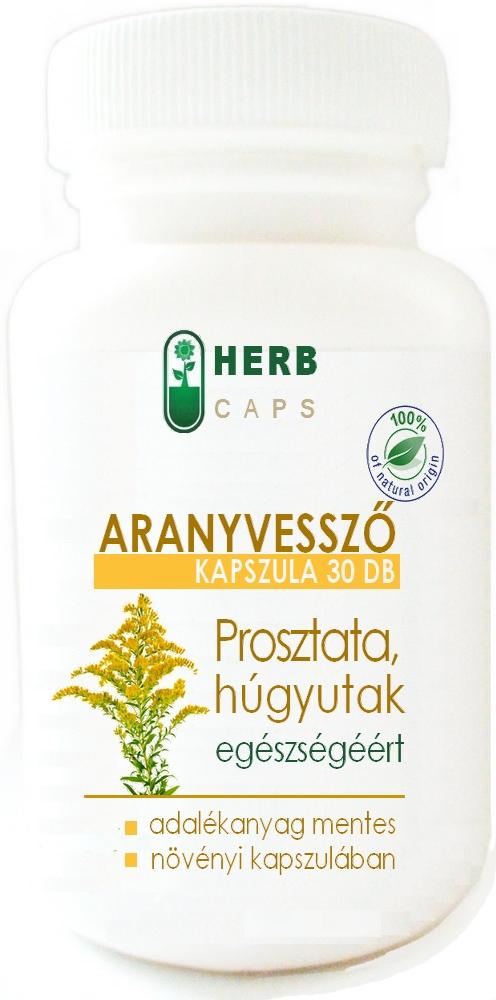 Prostatitis kapszula kezelése)